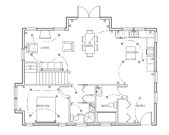 Draw Floor Plan Step 10