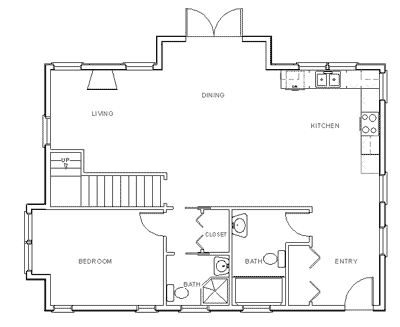Draw Floor Plan Step 6