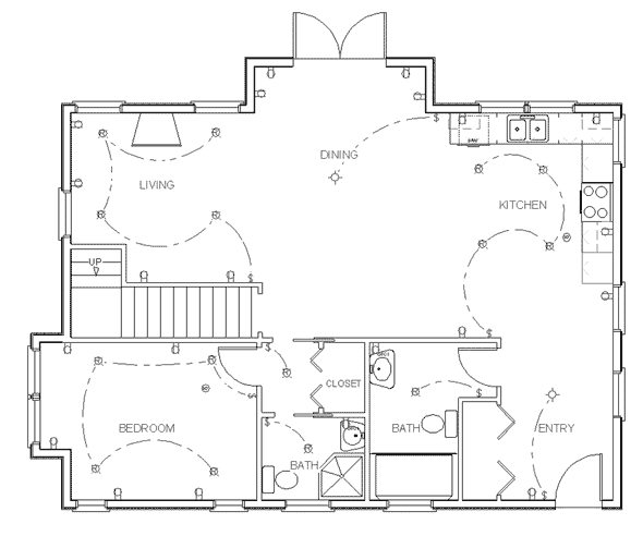 Draw Floor Plan Step 7
