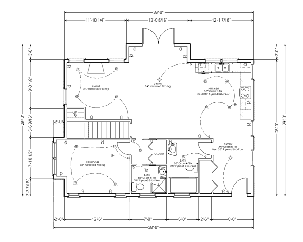 Draw Floor Plan Step 9