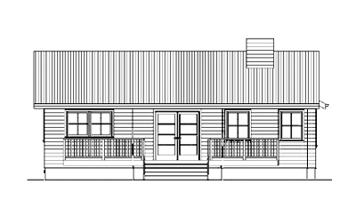 draft elevation drawings