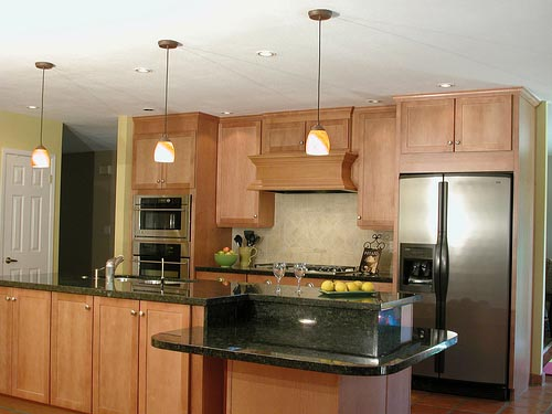 galley kitchen islands design